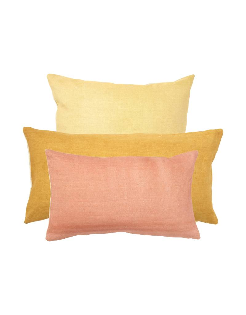 Chanee Vijay Textiles Rose Lumbar Pillow