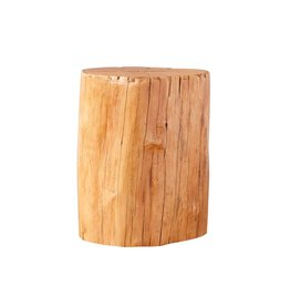 Europe 2 You Natural Log Stool