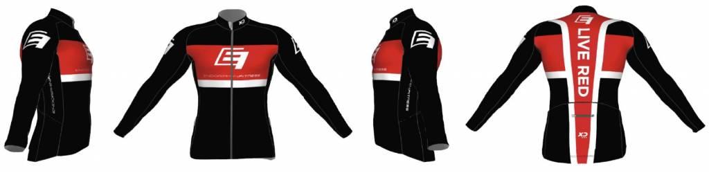 Xceed Long Sleeve Black Design - Men's