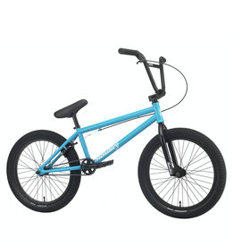 "Sunday Sunday Primer BMX Bike - 20.5"" TT, Gloss Surf Blue"