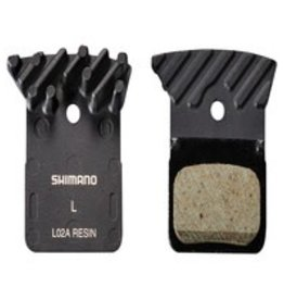 Shimano Shimano Disc Pad (L02A) Resin w/Fin & Spring