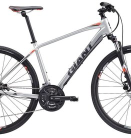 Giant 17 Giant Roam 2 Disc Small Silver/Grey/Red
