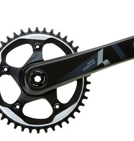 Sram Sram, Force1, Crankset, 11 sp., 172.5mm, 42T, BCD:110mm, BB30, 68mm, 45.5mm, Black