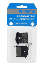 Shimano Shimano Disc Brake Pads- J04C- Metal Pad with Fins  for  ALFINE, SLX, XT, XTR