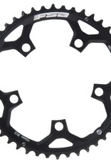 FSA, 50T, 10/11sp., BCD: 110mm, 5 Bolts, Pro Road, Outer Chainring, For Double, Aluminum, Black, 371-0250F