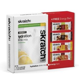 Skratch Labs Skratch Labs Gift Pack : Lemon Lime Mix and 4 bars