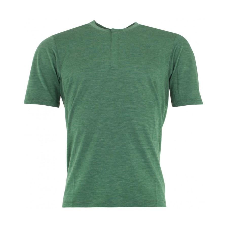 7Mesh 7Mesh Desperado Henley Jersey Green
