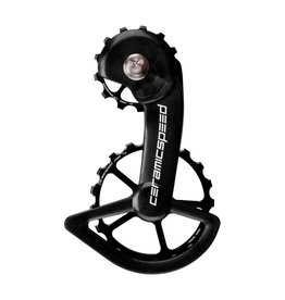 CeramicSpeed CeramicSpeed Oversized Pulley Wheels , Shimano 9100/8000, Alloy Black Non Coated