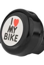 """Evo """"I Love my Bike """" Bell- Black"""