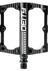 Deity Black Kat Platform Pedals, Aluminium body, Cr-M axle, 100mm x 100mm, Black