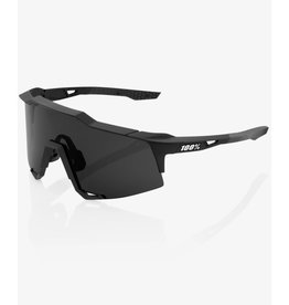 100 Percent 100% Speedcraft  Soft Tack Black Smoke Lens