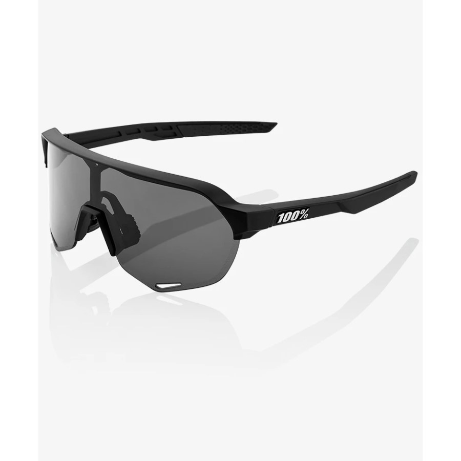 100 Percent 100 Percent S2- Soft Tact Black- Smoke Lens