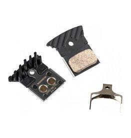 Shimano Shimano Disc Brake Pad: L04C- Metal Pad with Fins