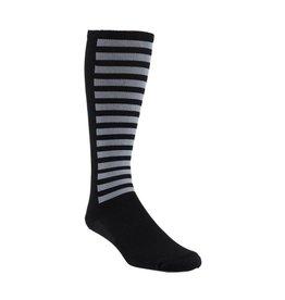 45NRTH 45NRTH Stripes Knee High Sock Black
