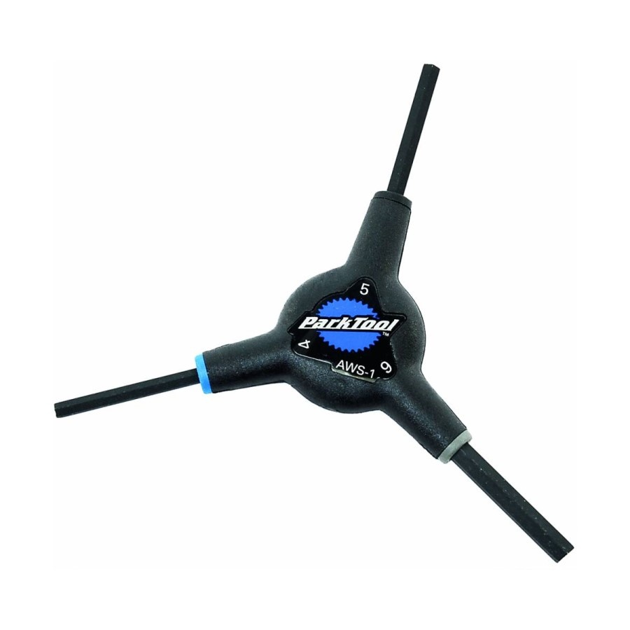 Park Tool Park Tool AWS-1 - 3-Way Hex Wrench