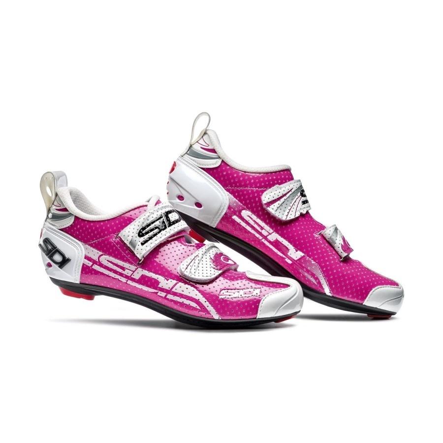 Sidi Sidi T4 Air Carb Comp Womens Tri Shoe - Fuxia White