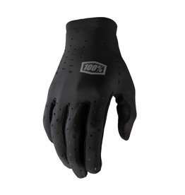 100 Percent 100 Percent Sling Long Finger Glove -Black