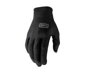100 Percent 100 Percent Sling Long Finger Glove -black
