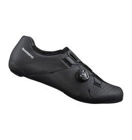 Shimano Shimano SH-RC300 Road Shoe, Black - Wide