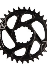 SRAM Sram, X-Sync for GXP 6mm offset, 32T, 12sp., BCD: Direct Mount, Single Chainring, Aluminum, Black