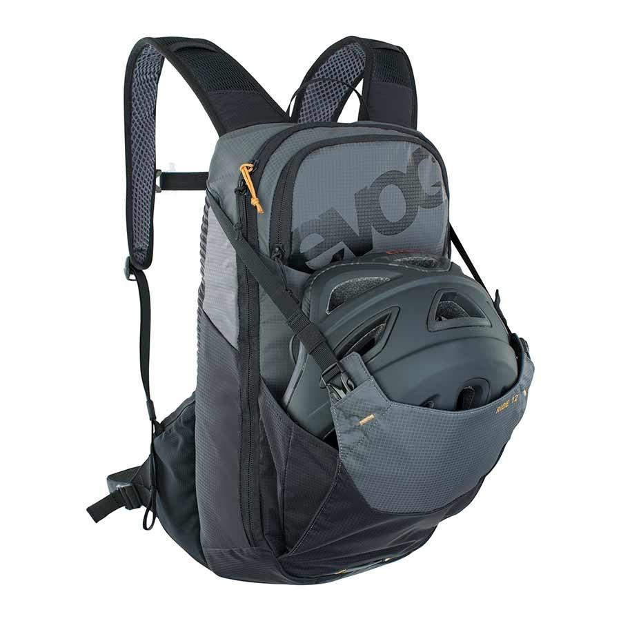 EVOC EVOC, Ride 12, Hydration Bag, Volume: 12L, Bladder: Included (2L), Carbon/Grey