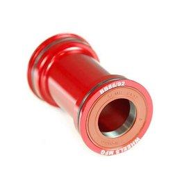 Wheels Manufacturing Wheels Manufacturing, Pressfit 86/92, Press-fit, BB Shell: 86/92mm, Dia.: 41mm, Axle: 24/22mm, ABEC 3, Black, (BB86/92-SRAM7)