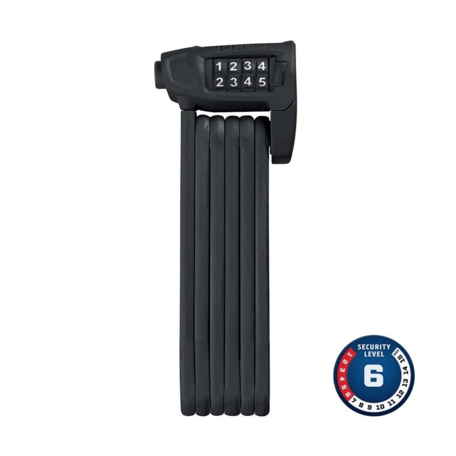 ABUS Abus Bordo Lite 6150, Folding lock with combination, 85cm, Black
