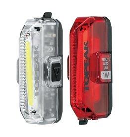 Topeak Topeak AERO USB 1W Combo 110/55 Lumen