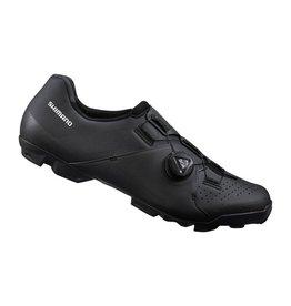 Shimano Shimano-XC300 Shoe, Wide - Black