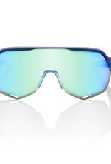 100 Percent 100 Percent S2 Sunglasses  Matte Metallic Blue Topaz Mirror Lens