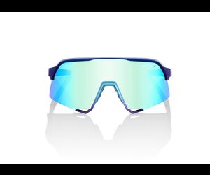 100 Percent 100 Percent Sp20 S3  Matte Metallic Into Fade  Blue Topaz Multilayer Mirror Lens