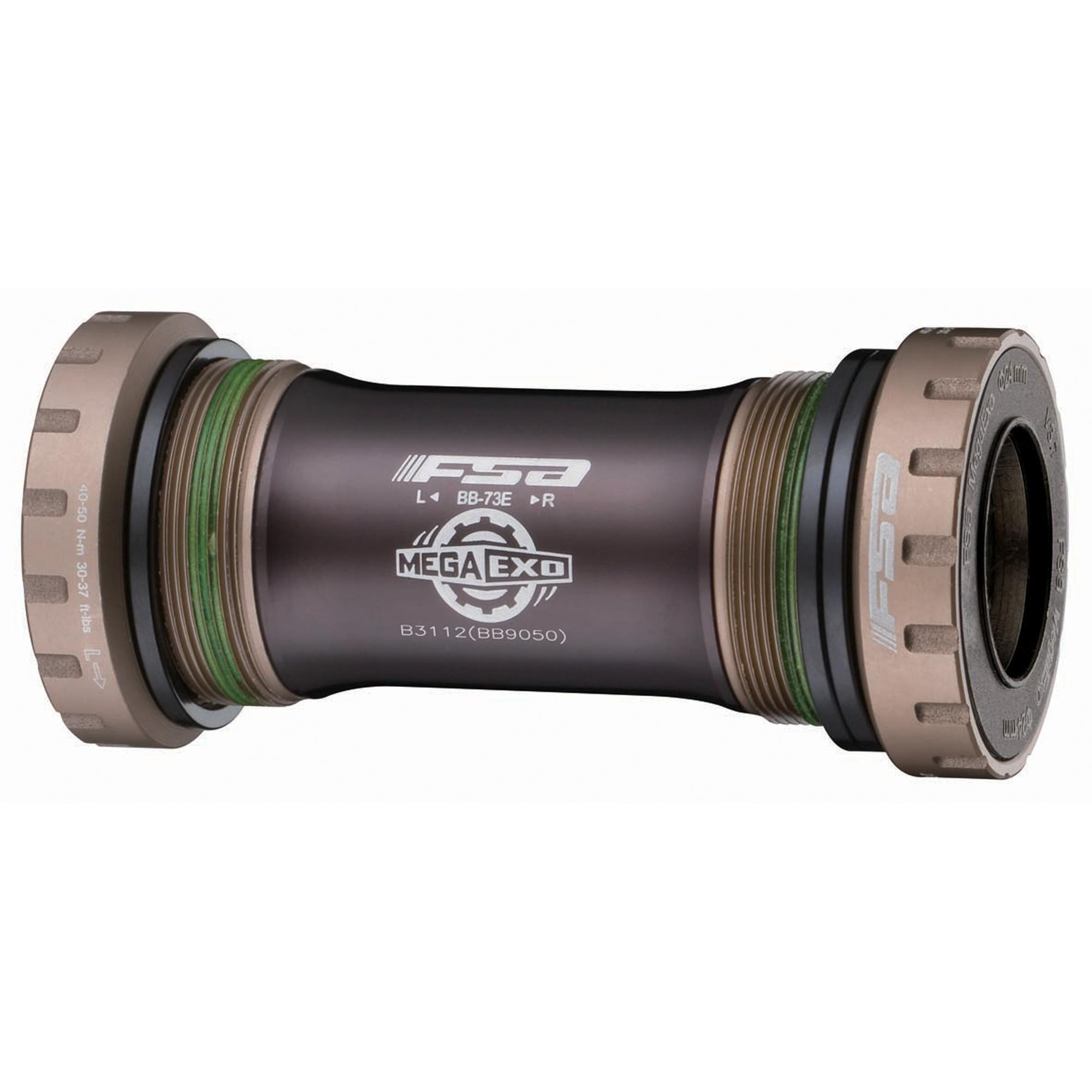 FSA, BB-9050, Mega Exo MTB, BB Shell: 68/73mm, Steel, Black, 200-1852