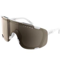 POC POC Devour Sunglasses Hydrogen White w/ Brown/silver Mirror