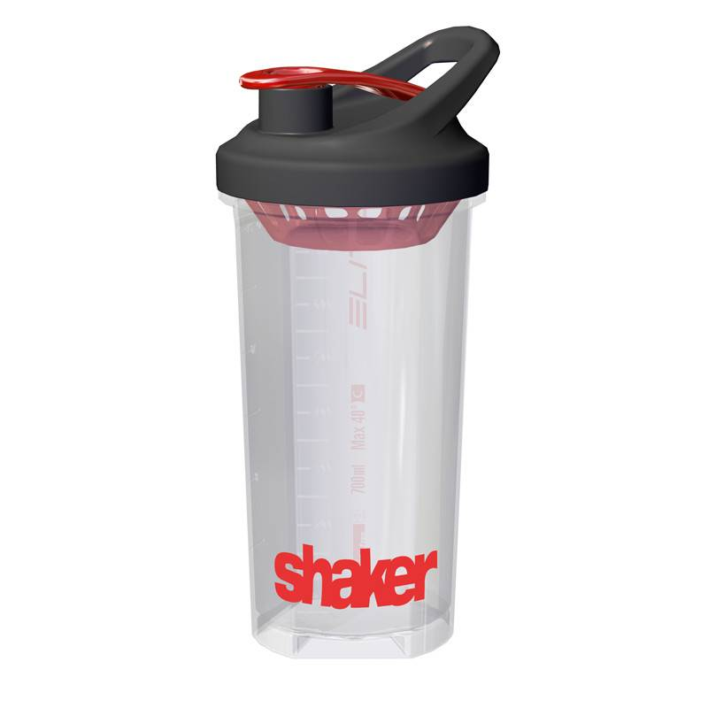 Elite Elite Shaker Nutrition Waterbottle Clear 700ml