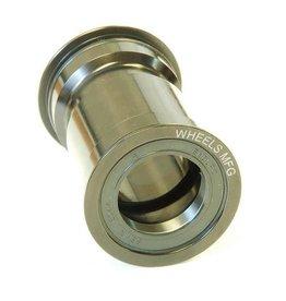 Wheels Manufacturing Wheel Manufacturing, Pressfit 30 bottom bracket, 68/73mm, 46mm, 30mm, Steel, Black, PF30-BB