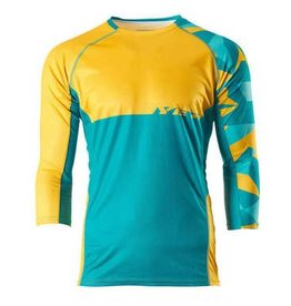 Yeti Yeti Tolland Jersey Turquoise/Yellow
