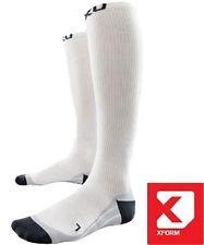 2XU Compression Race Sock White