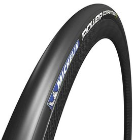Michelin Power Competition, Folding, Clincher, HDPROTECTION, 180TPI, 120PSI, Black
