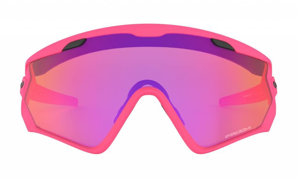 Oakley Oakley Wind Jacket Matte Neon Pink Prizm Trail