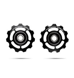 CeramicSpeed Pulley Wheels -Shimano 11spd-Black-Non Coated