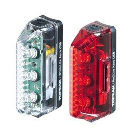 Topeak Topeak White/Redlite  Aero USB Combo
