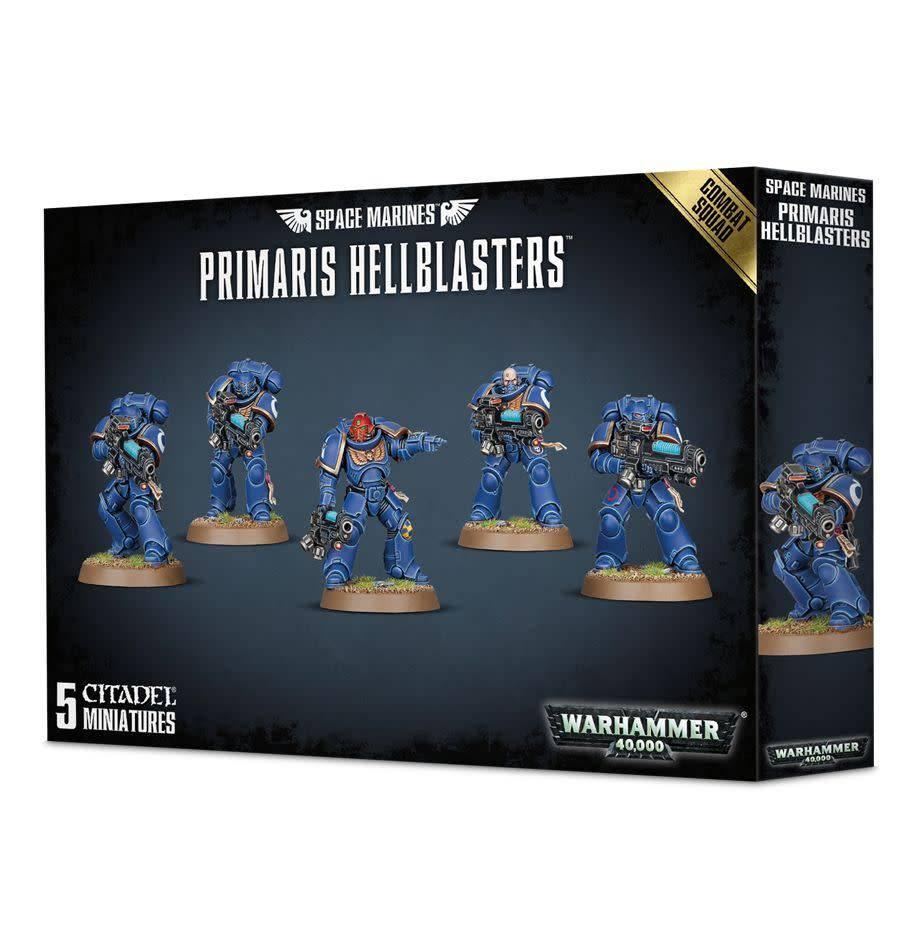 Primaris Hellblasters Combat Squad