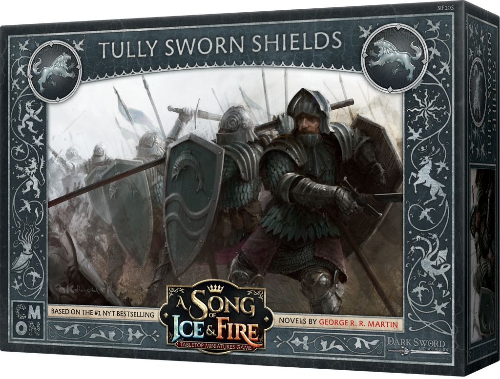 Song of Ice and Fire - Tully Sworn Shields