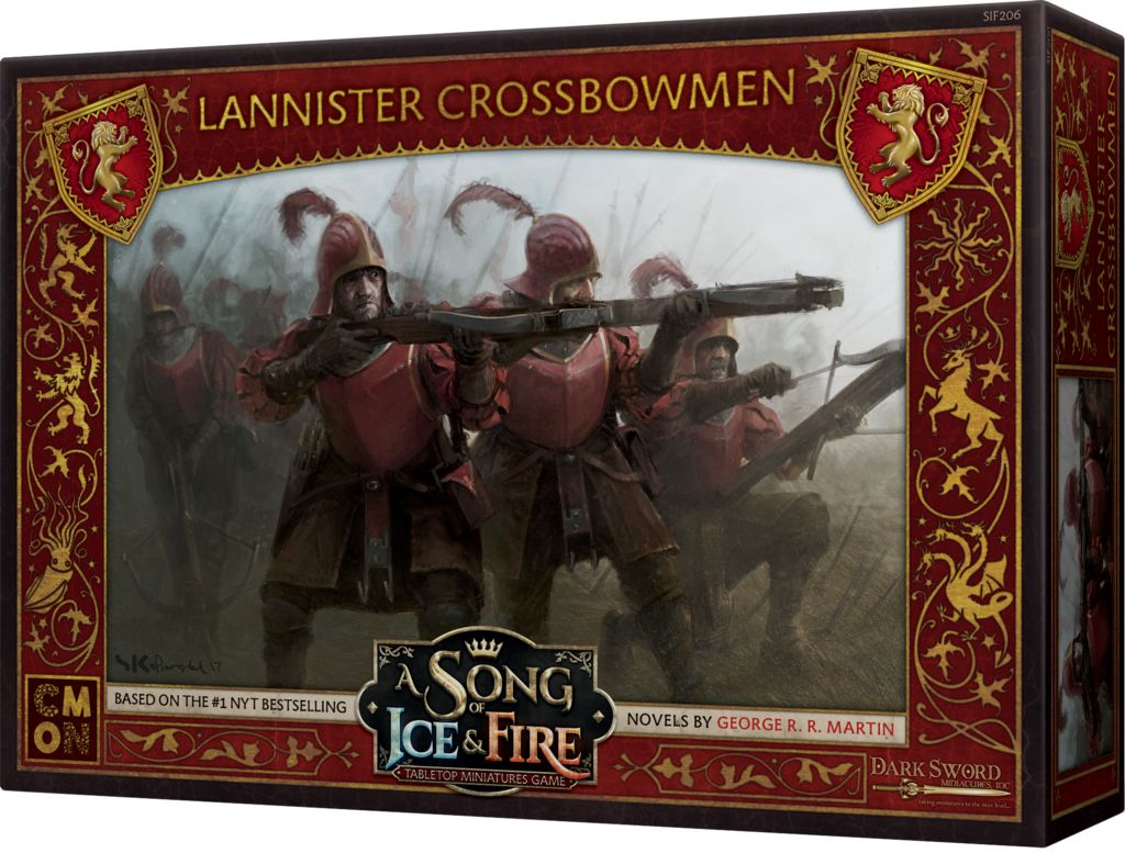 Song of Ice and Fire - Lannister Crossbowmen
