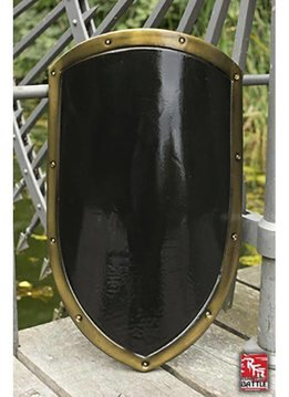 RFB Kite Shield Black and Gold