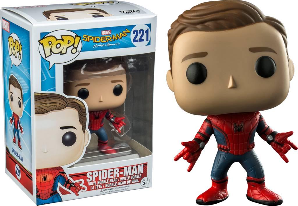 Pop! Spider-Man Unmasked