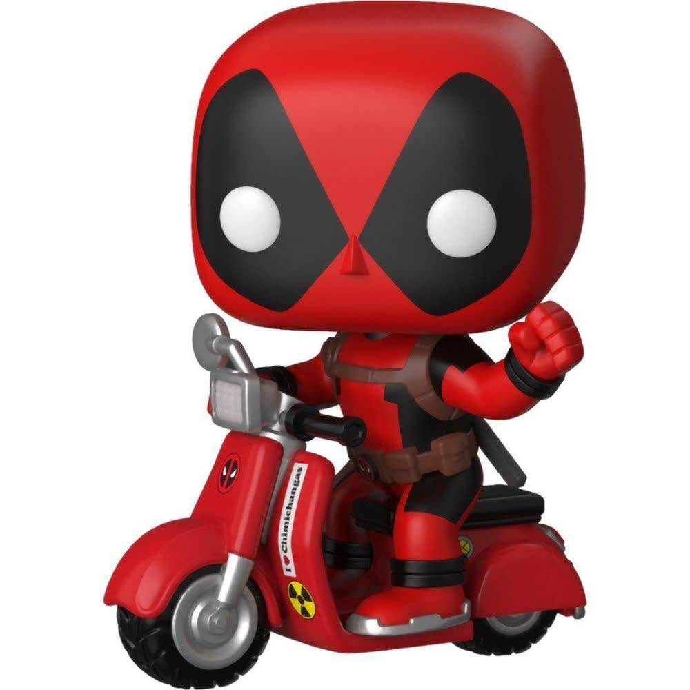 Pop! Deadpool and Scooter