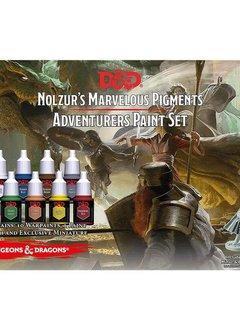 The Adventurers Paint Set