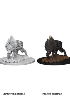 PF Unpainted Minis: Dire Wolf