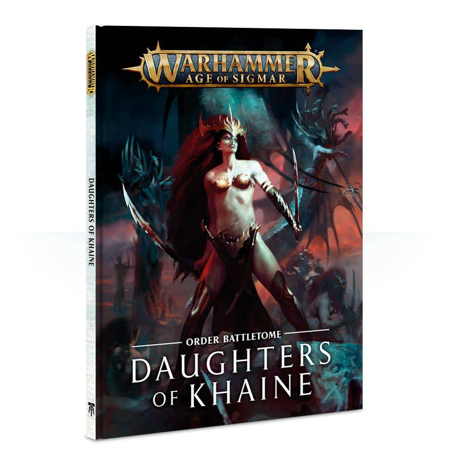Battletome: Daughters of Khaine SB (FR)